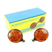 Simson Blinker rund Orange S51 S50 SR50  pass f MZ ETZ TS...