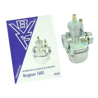 Original BVF Vergaser Düsen Simson 16N1-11 S51 S53 S50 S70 Reparatur Dichtungen