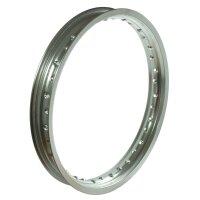 Simson MZ ETZ TS Felge Felgenring 1,6x18 Aluminium eloxiert poliert f schwarz