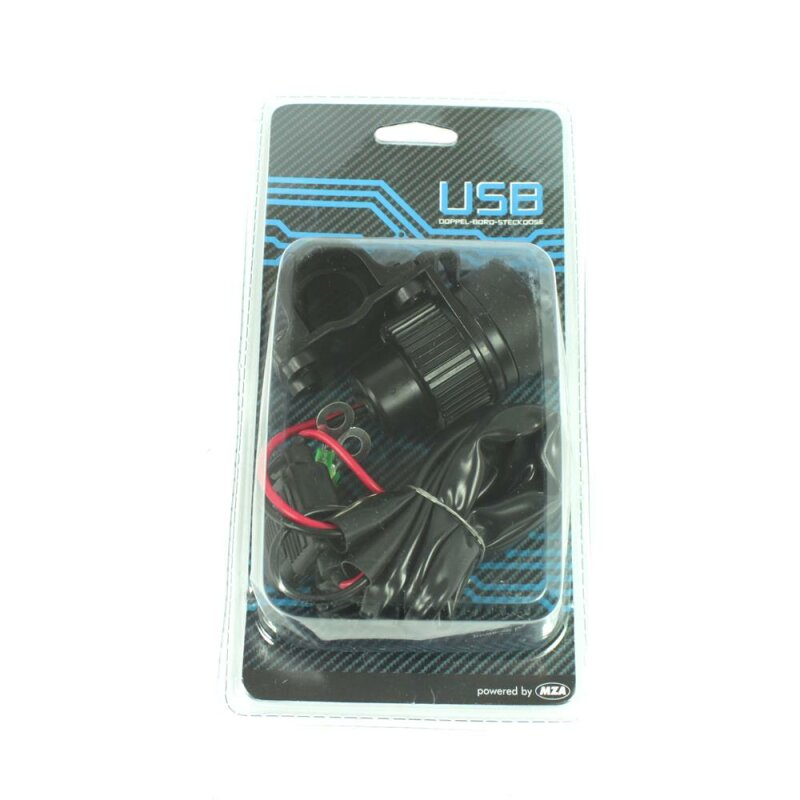 USB Steckdose 2-fach pas f Simson S51 SR50 KR51 Schwalbe Star S50 ...